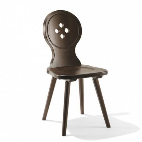 Sedia da verniciare - Andreas legno grezzo | ArredaSì