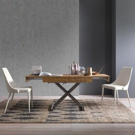 Tavolo soggiorno trasformabile - Compact   ArredaSì