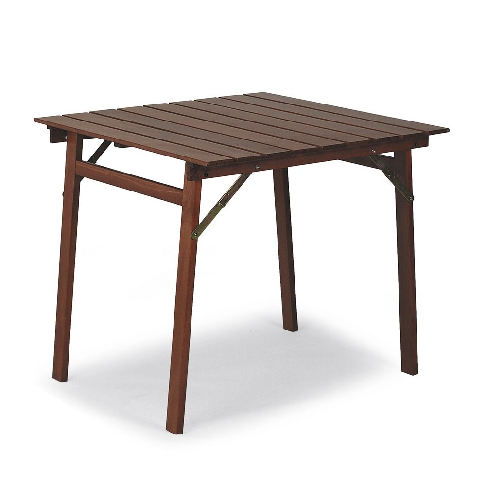 Tavolo in legno pieghevole da esterno - Tavolo P OUT ...