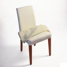 Sedia in legno con tessuto sfoderabile