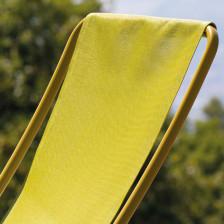 Sedie a sdraio pieghevoli colorate
