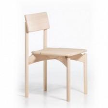 Sedia in legno massello moderna