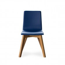 Sedia in legno di rovere moderna