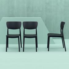 Sedia in plastica moderna