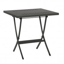 Tavolo pieghevole in ferro da esterno