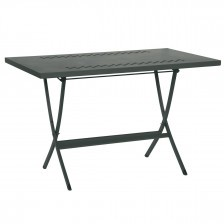 Tavolo da giardino pieghevole in ferro