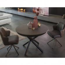 Tavolo rotondo allungabile design