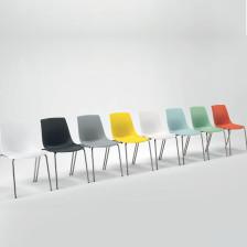 Sedia ospiti ufficio colorata