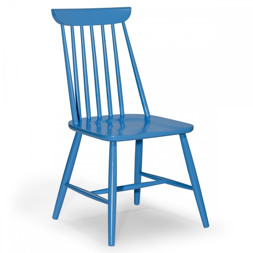 Sedie in legno azzurra - US 21 | ArredaSì