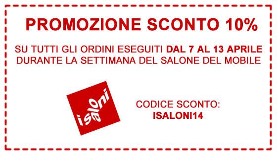 Promozione salone del mobile 2014 for Discount del mobile