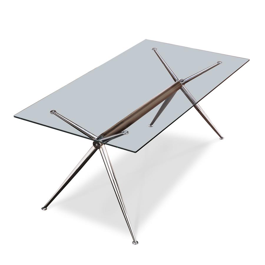 Vendita tavoli in cristallo - Tavoli quadrati in cristallo ...
