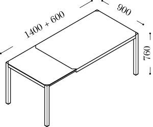 Dimensioni Tavoli Da Cucina. Interesting Il Tavolo Art Di Giessegi ...