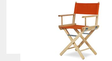Sedie regista - ArredaSì